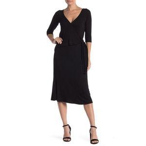Loveappella Side Tie Wrap Dress L
